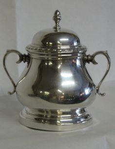#Silver sugar bowl.