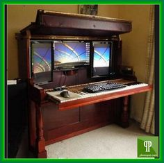 Computer Desk With Hidden Monitor Will Have To Be Strong You Would Like Pay