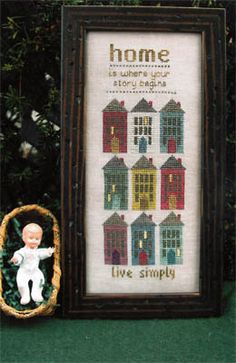 Home Is - Cross Stitch Pattern