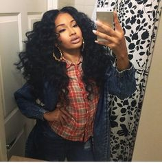 Human Hair Wigs Brazilian Malaysian Indian Remy Curly Human Hair Full Lace Wig Virgin Hair Lace Front Loose Wave Wigs For Black Women Afro Hair Style, Curly Hair Styles, Natural Hair Styles, Remy Human Hair, Human Hair Extensions, Human Hair Wigs, Remy Hair, Indian Hairstyles, Weave Hairstyles