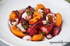Easy Summer Recipes - Fresh Fruit Caprese Salad