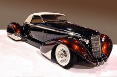 1936 AUBURN ROADSTER - EXCEPTION CONVERTIBLE - AMAZING STYLING!