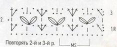 dantel örgü şeması