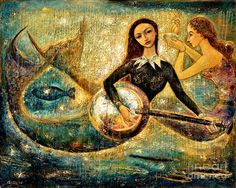 Undersea Painting by Shijun Munns - Undersea Fine Art Prints and Posters for Sale