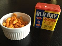 Cheetos dusted with Old Bay