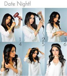 Date Night Hair