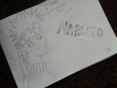 My First Sketch!!!!!! ♡♡♡ its Naruto!! This is my first ever proper sketch! X)))))....- by Zeba Hassan
