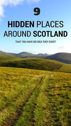 Visiting Scotland does not have to mean only seeing the major tourist attractions. So here are a few wee gems that I think might interest you. Enjoy!