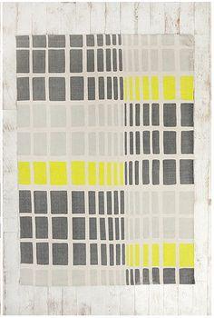 Gradient Grid Rug