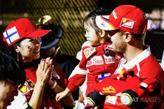 Seb with Japanese fans