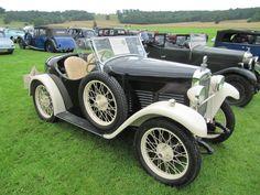 Triumph Super Seven Special Sports 1927/34 at Sherborne Castle classic car show