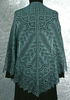 Free Knitted Lace Shawl Patterns