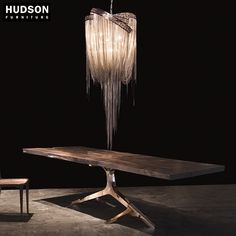 knight base dining table by hudson furniture live edge