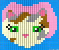 Sheriff Callie's Wild West perler bead pattern