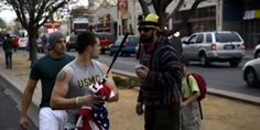 See What Happens When You Disrespect The U.S Flag Near A U.S Veteran's Bar