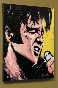Celebrity Portrait - #ElvisPresley by David Garibaldi
