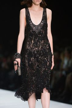 Roberto Cavalli at Milan Fashion Week Spring 2013