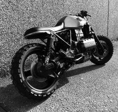 BMW K100 - Diego Castelli K100 Scrambler, Scrambler Custom, Bmw Cafe Racer, Cafe Racers, Bmw K100, Bmw Motorcycles, Classic Bikes, Guys Be Like, Custom Bikes