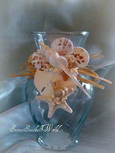 Starfish Dreams seashell vase