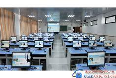 Phòng tin học - Công ty thiết bị giáo dục Hồng Đức, Công ty thiết bị trường học tại thanh hóa