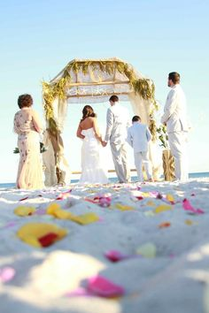 Beach Wedding Photo By Kristi Chappell Photography http://www.kristichappellphoto.com/