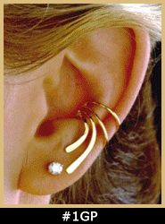 cute way to wear earings with out having your ears pierced!!