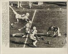 TOM DARDEN MICHIGAN ROSE BOWL VINTAGE NCAA FOOTBALL PHOTO
