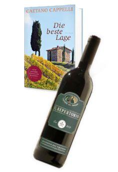 """Wenn Ihr abends in aller Ruhe ein Buch lest, trinkt Ihr dann auch ab und zu mal einen Schluck Wein oder etwas anderes dazu? Falls Gaetano Cappelli und """"Die beste Lage"""" gerade bei Euch auf dem Stapel der noch ungelesenen Bücher liegt, dann können wir ein paar gute Weine aus bester Lage in der Basilikata empfehlen."""