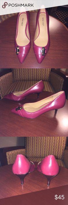 BRAND NEW Nine West red heels  Never worn. Excellent condition. Nine West Shoes Heels