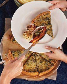 Leek and Swiss Chard Tart Recipe