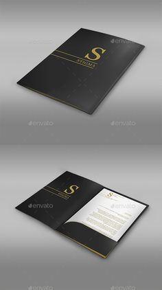 3d folder mock up stationery