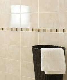 Bathroom Tiles Homebase istanbul mosaic wall tiles - sand - 330 x 330mm - 4 pack from