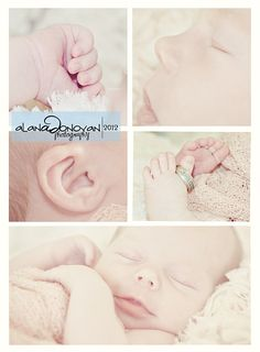 newborn photography | tiny toes | birth announcement