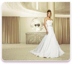"""Walk in the park"" Wedding dress  http://www.christiannebrunelle.com/English/Caroline-Castigliano-wedding-dresses/"