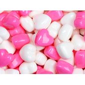 Pink & White Candy Hearts: 12-Ounce Bag