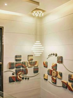 Ideas home art gallery ideas ceilings Ceiling Design, Wall Design, House Design, Entrance Design, Entrance Decor, Mural Wall Art, Murals, Art Deco Bedroom, Inspiration Wall