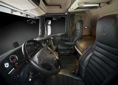 Scania truck interior