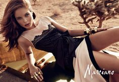 FashionTV Mobile | Gallery | MARCIANO- Holiday Collection 2012