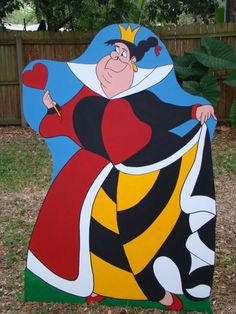 Queen of Hearts Alice in Wonderland Party Prop by BlueGardenias, $105.00