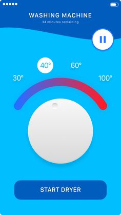 Washing machine app
