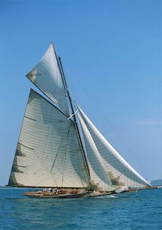 """Famous America's Cup Yacht """"William Fife"""""""