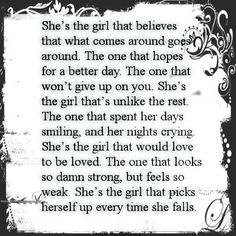 ~ quote about a girl ~