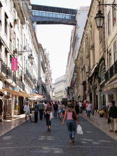 Rua do Carmo, Lisboa, Portugal