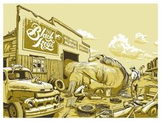 The Black Keys 2012 by Jeff Proctor
