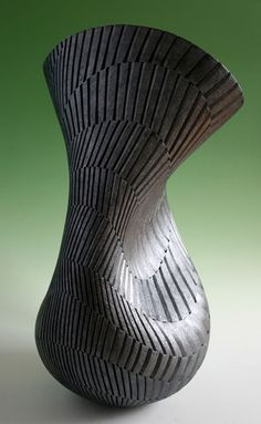 Hanna Ashraf is an Egyptian-born studio potter resident in Britain. Having exhibited widely across Europe Ashraf has won significant awards, and has works included in several public collections including at the National Museum of Wales.