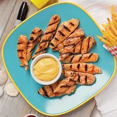 Grilled Chicken Tenders with Creamy Honey Mustard are kid-friendly and may even rule over fried chicken tenders