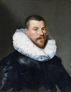 1630 Paulus Moreelse - Portrait of a man