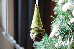 Craft these one-of-a-kind Christmas tree decorations while binge-watching holiday episodes of your favorite TV shows.