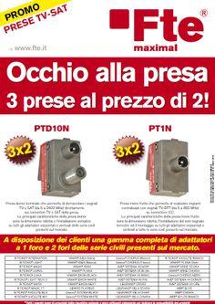 Promozione Prese 3x2