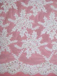 Corner Decorations 6x6cm Set White,Guipure Lace Motif,Applique,,Wedding 4Pcs